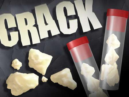 un logo para la droga crack